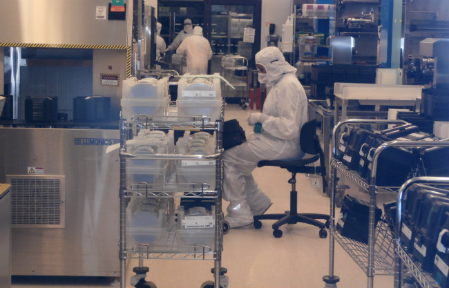 Microcontroller production can be a 2-month process.