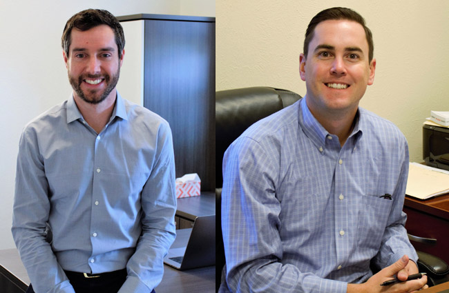 CEO Brian Stern and COO Webb Lawrence of Puro Lighting