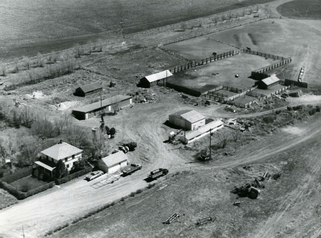 Gergen Homestead 1960, courtesy Whiskey Sisters Supply