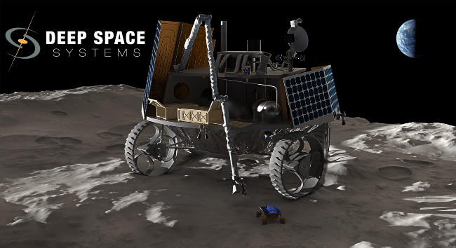Lunar rover image courtesy Deep Space Systems