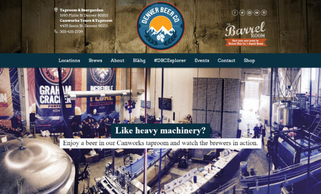 Unleaded's branding, packaging and web design efforts for Denver Beer Co have encouraged exponential growth for the new craft beer mainstay, allowing DBC to secure distributorship throughout Colorado via Breakthru Beverage Group, a leading distributor of the world's top premium beer brands.
